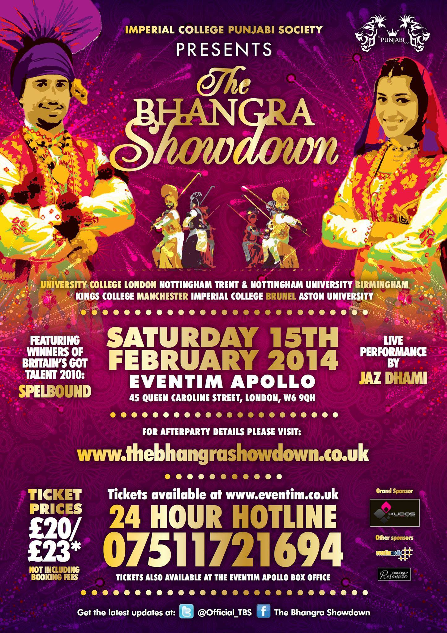 The Great Hype Surrounding The Bhangra Showdown 2014