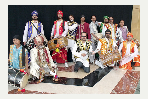 UK Bhangra Group RSVP Plays Plymouth Respect Festival