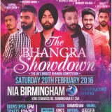 Tickets For The Bhangra Showdown 2016 go on Sale