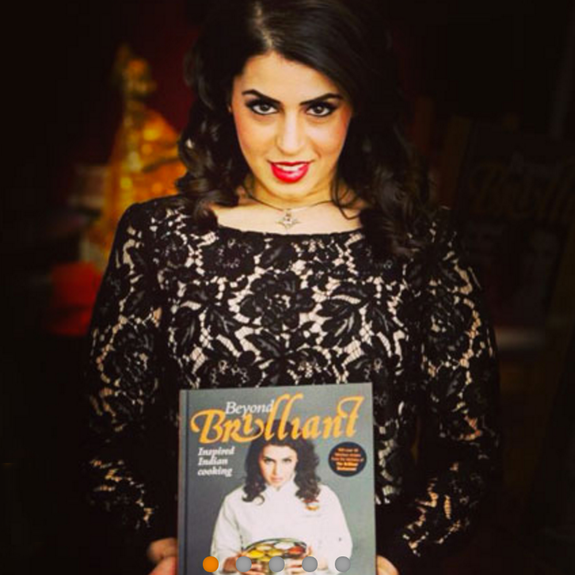 Celebrity Chef Dipna Anand Launches First Cookbook
