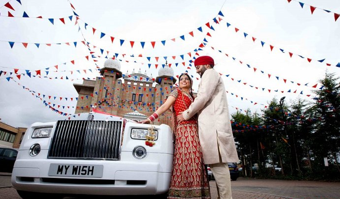 Rolls Royce Phantom Named Most Popular Asian Wedding Car for 2015
